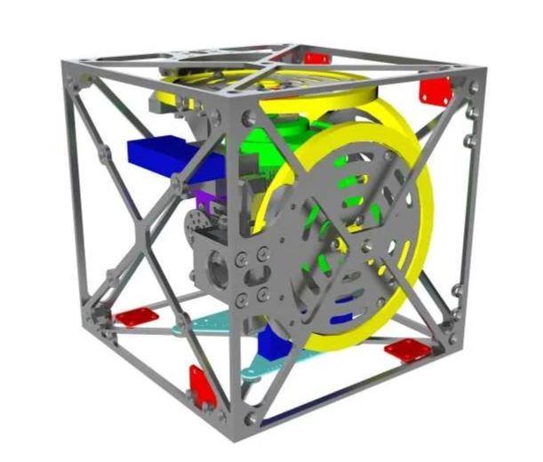 Балансирующий кубик Cubli