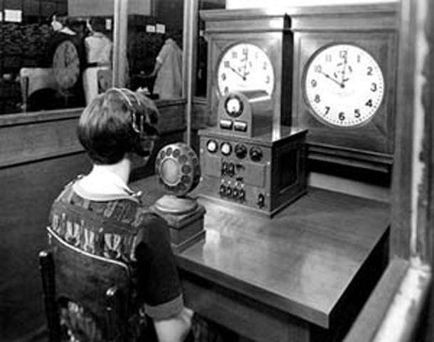 Телефонная служба точного времени (human edition)
