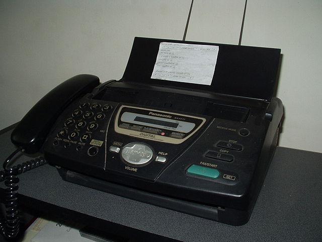 Факсы. А вы помните?