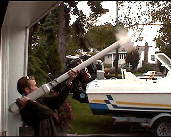 Для чего контрабандисты используют пневматические пушки и катапульты?