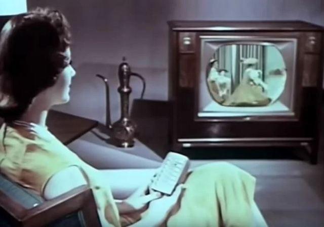 Как рекламировали телевизоры в 60 годах 20 века