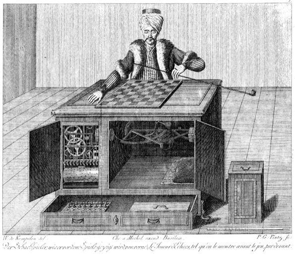 Шахматный автомат Механический турок